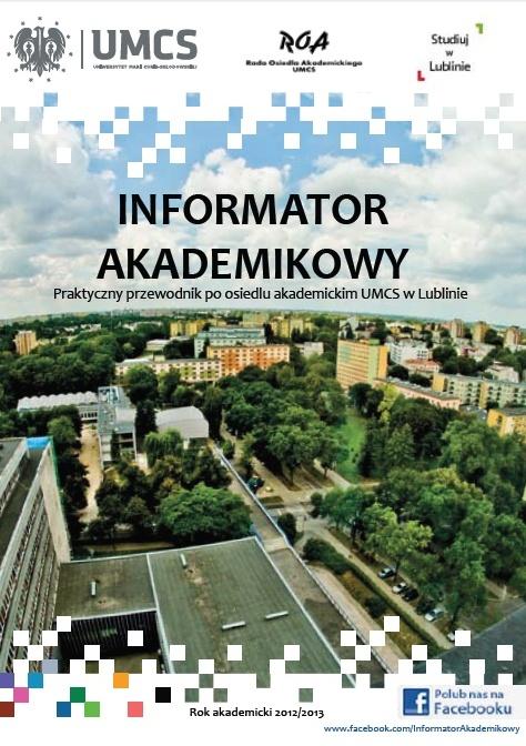 Informator Akademikowy 2012 okładka