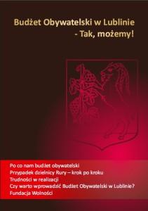 Budżet Obywatelski w Lublinie - Tak, możemy!
