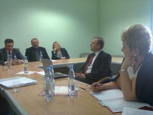 Spotkanie z sekretarzem miasta